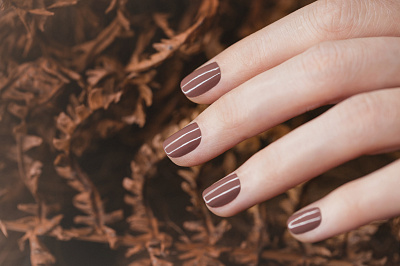 "Nail Lacquer — ""Brown Crab"""